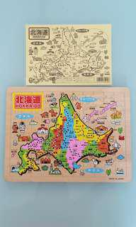 Wooden Puzzle from Japan Hokkaido
