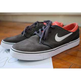 Nike Stefan Janoski Dark Grey/Red-Orange