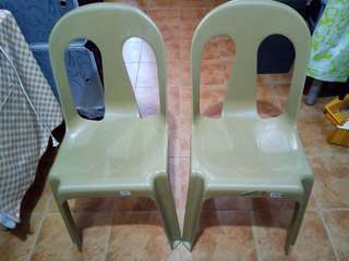 Two Monoblock Chairs (preloved)