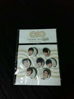 INFINITE Second Invasion Evolution Plus Pins