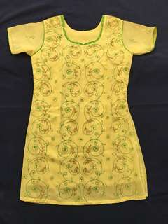 Embroidered Dress for Girls