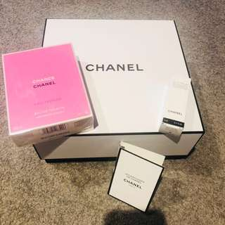 Brand new Chanel Chance with FREE examples