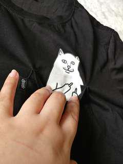 😸 Ripndip - Lord Nermal Pocket Tee (Black) - Medium