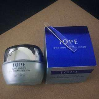 BNIB IOPE Eye cream plant stem cell skin renewal eye cream