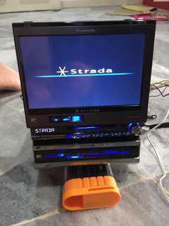 Panasonic Strada 2din DVD/HDD player