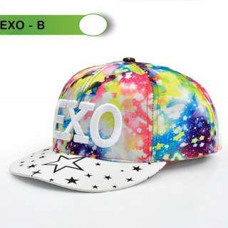 Topi Fashion EXO Colourfull TPEXO Semi Premium Bahan : Polyester (NO BOX)