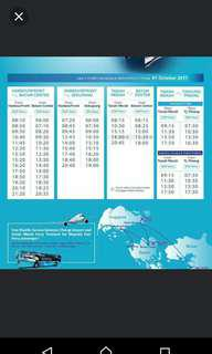 E-tiket 2 way round trip majectic ferry with all taxes