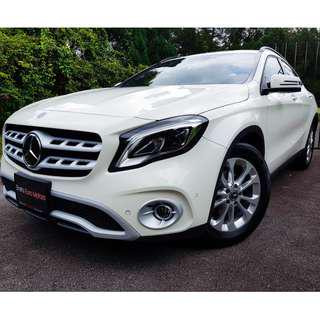 New Mercedes-Benz CLA180 AMGLINE or GLA180