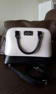 Authentic Kate Spade handbag with detachable sling strap