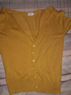Cardigan kuning Gaudi