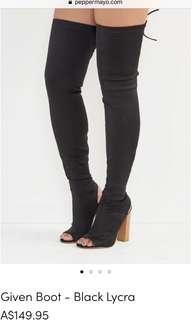 Lipstik Thigh High Boots