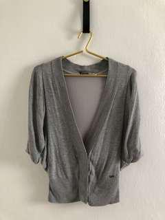★。Guess Cool Grey Cardigan.。一★  ✧FREE Postage within Malaysia