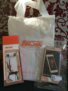 Softcase Full Body (Depan Belakang) I phone 6/6S (Rosegold)