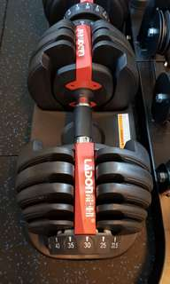 Great Condition Adjustable Dumbbell Pair for Sale