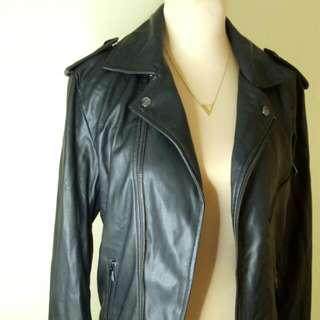 Zara Man Leather Jacket