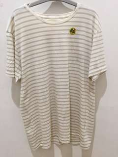 NEW! Cotton On Tbar Ivory Stripe