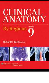 Clinical Anatomy by Regions 9th ed PDF