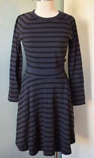 GAP Blue Black Stripes Casual Dress