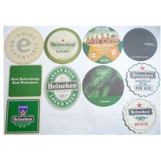 England UK USA   BEER MAT COASTER - HEINEKEN - 2005-2007 DRIP MAT