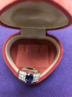 🈹🈹 清屋價 🈹🈹🈹 Blue Diamond Ring