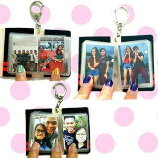 🚚 Mini photo album keychains