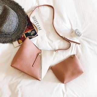 2 in 1 bag in bag korean fashion composite shoulder messenger bag