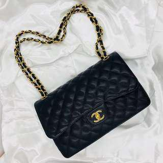 Rent Chanel Classic Jumbo Shoulder Bag with GHW