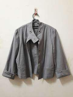 Hush Puppies Grey Short Jacket