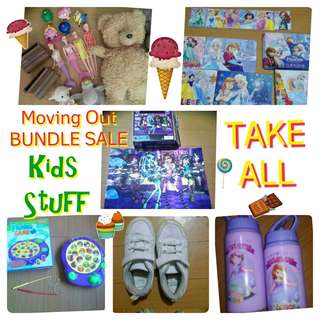 TAKE ALL Moving Out Sale BUNDLE RANDOM KIDS STUFF AND TOYS