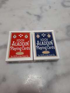 Aladdin 1001 Playing Cards  USPCC