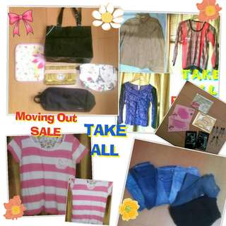 TAKE ALL BUNDLE SALE LADIES CLOTHES AND STUFF