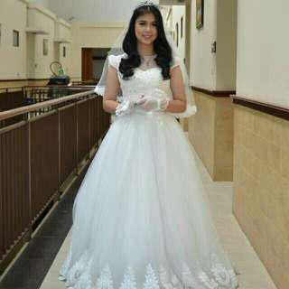 Wedding dress / wedding gown / gaun pengantin