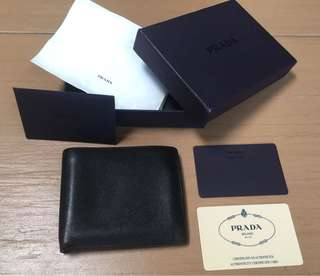 Authentic Prada Wallet full set