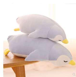 Cute Blue Penguin & White Seal & Grey Seal Soft Toys