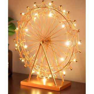 Ferris Wheel (In rose gold)