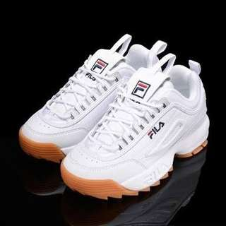 Fila Disruptor with Sole Gum
