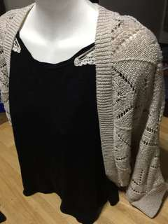 Cover-Up beige/tan with specks of gold PLUS size