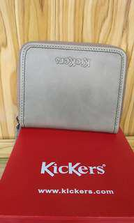 Kickers leather zip wallet (ic83185-WZE)