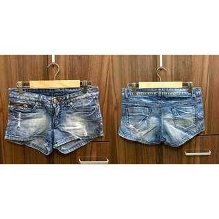 Bayo denim shorts