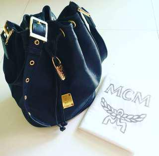💯 Authentic MCM Bucket with GHW Padlock (MM size)