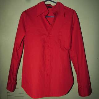 Red Longsleeve Shirt