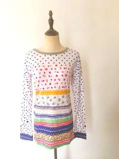 French style cotton tee