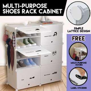 Creative Multi-purpose Shoes Rack Cabinet IN Cubes