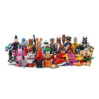 Leeogel [Free Postage] Lego Minifigures 71017 Batman Movie Set of 20 - Repacked