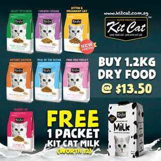 🚚 Kit Cat Dry Food