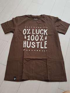 Typography style clothes (brown)