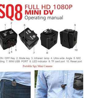 SQ8 Full HD Video 1080P DV DVR Mini Camera Camcorder Spy Cam