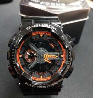Casio G-Shock No. 5146 黑橙 (連說明書、盒)