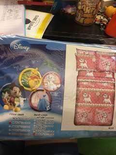 Disney雙人床單