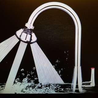 兩檔出水~防濺水節水器
